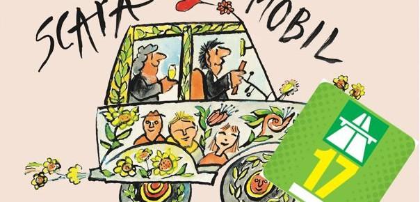 "SCAPA-Buch ""Mobil"" mit Autobahnvignette 2017"